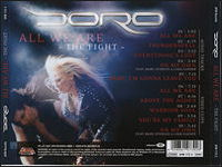 DORO - All We Are - The Fight (maxi singl 2007)