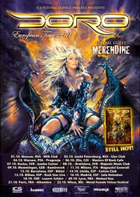 DORO - European Tour 2011