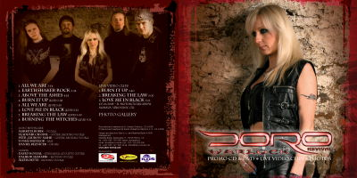 Doro revival - Promo CD