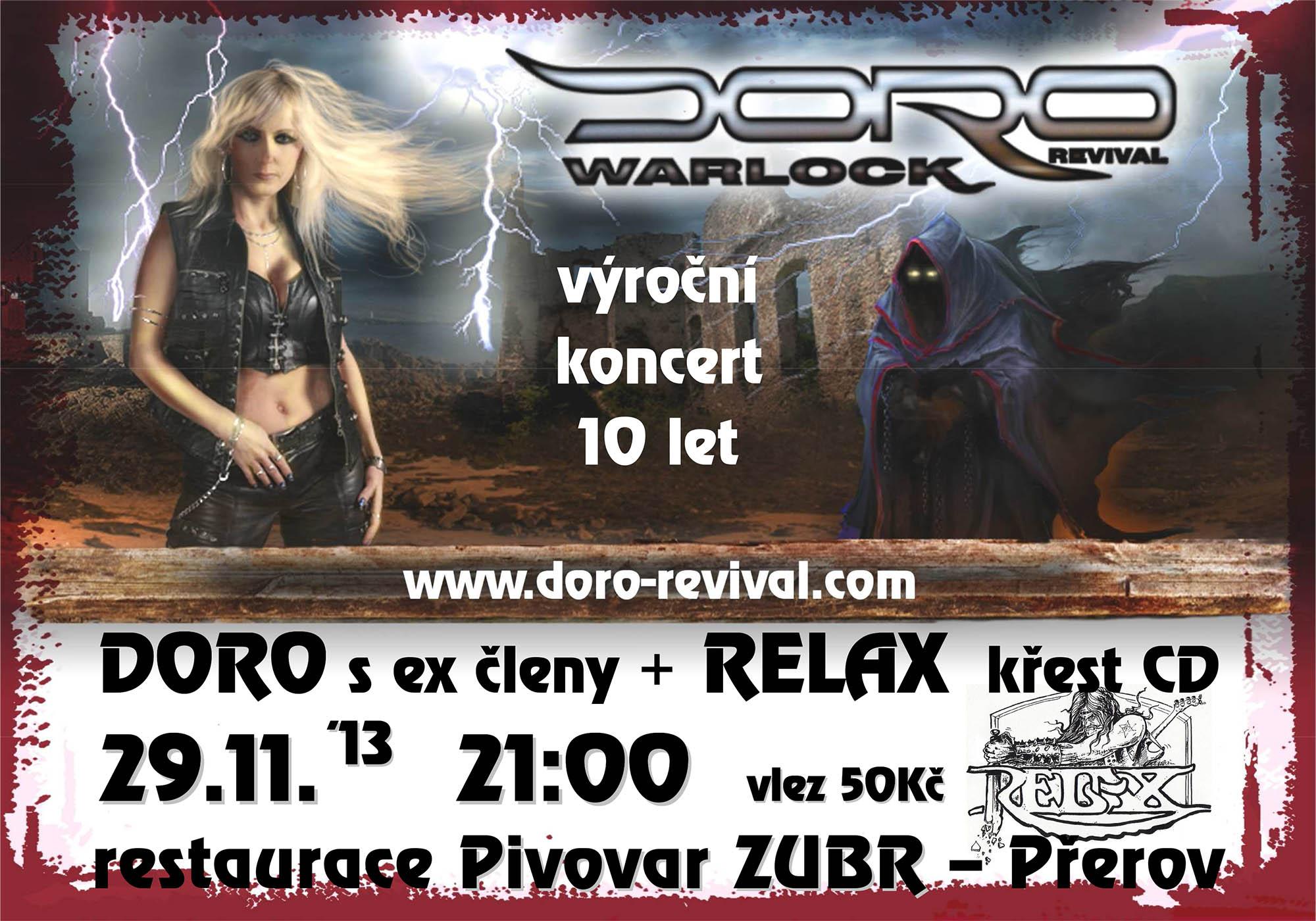 DORO REVIVAL - Vánoční koncert v Přerově