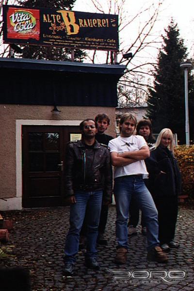 DORO & WARLOCK revival - Annaberg 30.10.2004 ... před 14 lety :-)