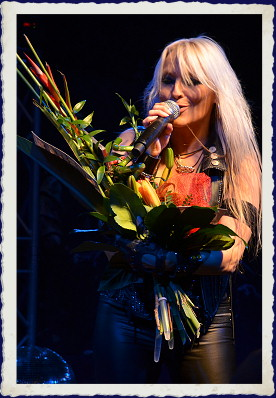 DORO na koncertu 25 Years In Rock 2011 - Masters Of Rock Café Zlín (CZ)