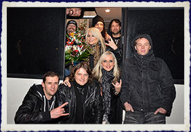 DORO REVIVAL & DORO BAND - Love´s Gone To Hell Tour 2016 - Masters Of Rock Café Zlín - 02.12.2016
